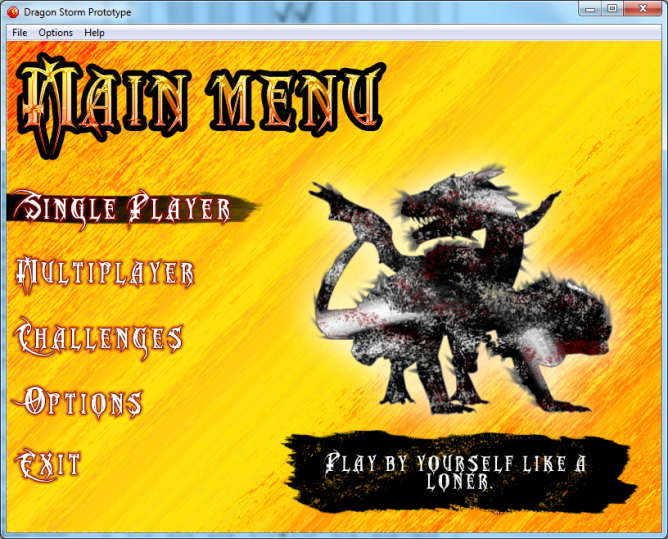This is the most graphically-awesome game I've ever made. :P