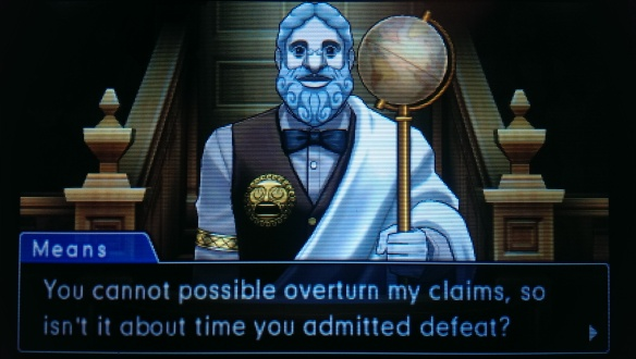 You cannot POSSIBLY* overturn my claims...