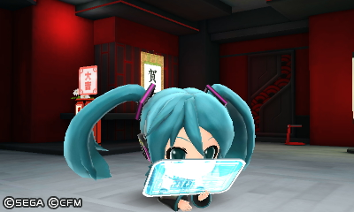 Miku NOT USING THE SOFA
