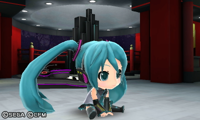 Miku Sitting WEIRDLY